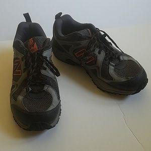 New Balance Grey Orange Comfort Ride Sneakers